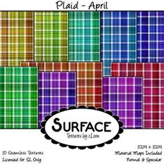 Surface - Plaid - April Contact | Flickr - Photo Sharing!