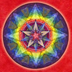 "The Joy Mandala ""Not when dreams come true, but NOW, in the making of the dream."""