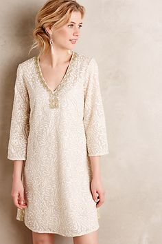 Gilded Empress Tunic Dress #anthropologie, Style No. 4130077005755