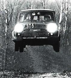 Timo Mäkinen + Mini cooper S + RAC Rally + 1967 via: http://asaucerfulofwheels.tumblr.com/post/8169579429/timo-makinen-mini-cooper-s-rac-...