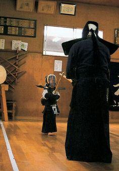 El tamaño y la edad no importan...... La practica del Kendo nos hace grandes