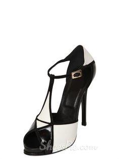 Sexy White Stiletto Heels Peep-toe Women Sandals
