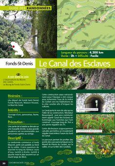#Martinique #Randonnées Le canal des esclaves