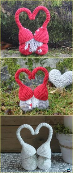 Crochet Loving Plots Couple Free Pattern - Crochet Doll Toys Free Patterns