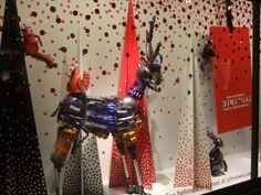 John Lewis  Christmas window display
