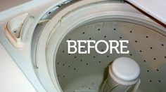 How To Clean a Washing Machine1