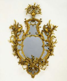 Chippendale Rocco Neo-Classical Mirror V Museum
