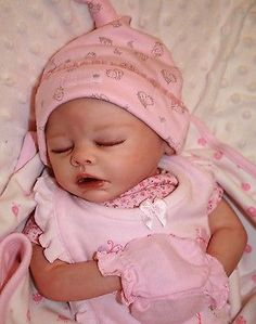 "REBORN Baby Girl DOLL ~ ""Sam"" kit by M.May ~ MEMORY DOLLS BY MARILYN"