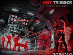 Super Hot Trigger  Android Game - playslack.com , combat gatherings of foes in great venues like bases on far away planets, confidential workplaces, and so on. Get prepared for violent firefights in this game for Android. Move around the tract and use a collection of objects to hide from foe fire. When you stand in place the time slows down. You can see where the foe projectiles are positioned  at. Use this exclusive quality to appoint where to move and specify priority targets.