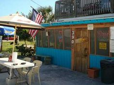 Skinny's Place in Anna Maria Island, FL.  Burgers, onion rings, french fries, and other great American eats!