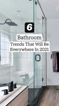 Upstairs Bathrooms, Dream Bathrooms, Amazing Bathrooms, Bathrooms Decor, Bathroom Fixtures, Bathroom Flooring, Bathroom Trends, Master Bathroom Remodel Ideas, Basement Bathroom Ideas