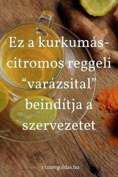 Hungarian Recipes, Superfoods, Reiki, Food To Make, Life Hacks, Tea, Healthy, Therapy, Turmeric