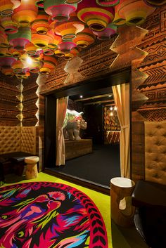 Glamp Cocktail Bar Was Designed in African Style by Studio Equator