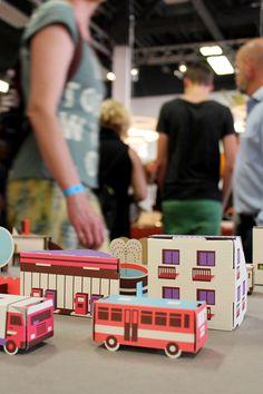 Robert Chaska Paper City at Dutch Design Week /// More on Interiorator.com