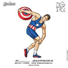 Olympic Captain America