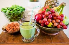 Fruit smoothies are a popular refreshment not only for adults but even for the little ones as well. With their natural sweet flavors, it is no wonder that many children love fruit smoothies and can… Healthy Smoothie Ingredients, Healthy Smoothies, Spinach Smoothies, Vegetable Smoothies, 3 Ingredients, Super Green Smoothie, Green Smoothie Recipes, Healthy Foods To Eat, Healthy Eating