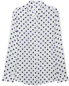 Love this: Earl Polka Dotprint Washedsilk Shirt @Lyst