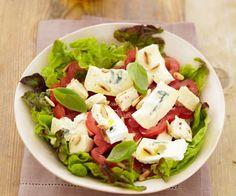 Salade au poulet et au Bresse Bleu - Gourmand