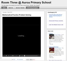 The class page of the students from Room Three, Auroa School, Taranaki, New Zealand. Lots of great videos and learning activities including global collaboration.