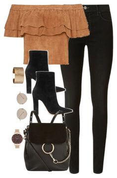 """""""Untitled #2853"""" by theaverageauburn on Polyvore featuring J Brand, Gianvito Rossi, Chloé, Gucci, Panacea and Olivia Burton"""