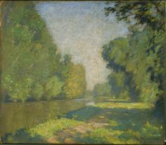 William Lathrop, The Tow Path, Phillips Collection