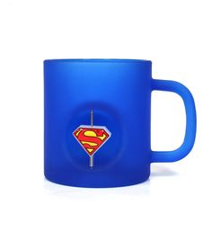 SUPERMAN  – CANECA 3D Vidro DC Original