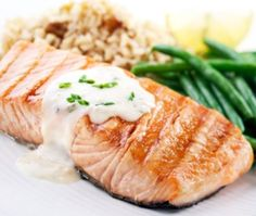 Salmon with Lemon Lime Butter
