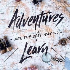 Adventures are the best way to learn. thedailyquotes.com Know some one looking for a recruiter we can help and we'll reward you travel to anywhere in the world. Email me, carlos@recruitingforgood.com