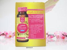 #Agelessbihaku #Collagen #CollagenDrink #skincare #healthydrink #innerbeauty #Skincarereview #evenreport http://blossomshine.com