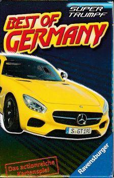 Ravensburger Best of Germany - Super Trumpf Quartett Germany, Bmw, Deutsch