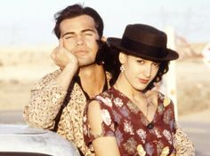 Billy Zane jennifer Beals blood and concrete Billy Zane, Jennifer Beals, Cowboy Hats, Concrete, Blood, Couple Photos, Couples, Fashion, Couple Shots