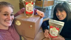 """120 bags of the """"good stuff"""" to Merrimack Valley Food Bank! This mother-daughter team strikes again :)"""