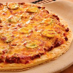 Cheeseburger+Pizza+-+The+Pampered+Chef®  Like my Facebook page for even more recipe ideas: www.facebook.com/jennifermentingspamperedchefpage