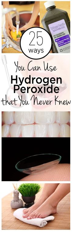 25 Ways You Can Use Hydrogen Peroxide that You Never Knew