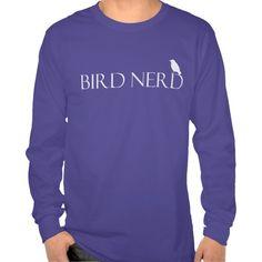 Bird Nerd Long-Sleeve T-Shirt