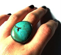 turquoise ring. love.
