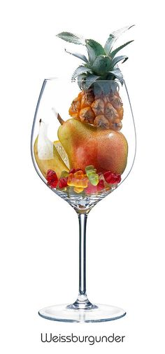 PINOT BLANC Pineapple, pear, banana, lemon, Gummy bear. Synonyms include: Pinot Bianco, Weissburgunder, Beli Pinot, Klevner (Alsace), Blanc Vrai (Champagne) like Chardonnay it produces a similar medium- to full-bodied style of wine with good acidity, and responds well to oak maturation.