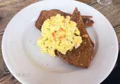 Gluten-free scrambled eggs @ Boston Tea Party