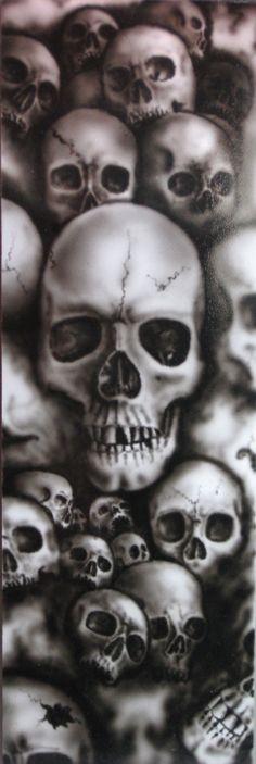 Skulls by Handigitous.deviantart.com on @deviantART