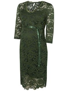Green dress from Mamalicious. Ideal for special occasions.