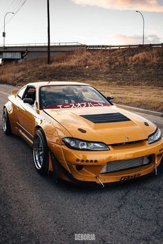 a great looking mod from Canada Owner Model Silvia Manufacturer Nissan Location Canada Nissan S15, Nissan 240sx, Tuner Cars, Jdm Cars, Silvia S15, Datsun Car, Street Racing Cars, Slammed Cars, Top Luxury Cars