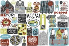 Coast 2012/13 : Alice Pattullo Illustration
