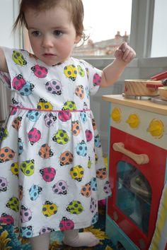 The Ladybird Dress - Puperita Patterns