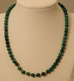 Green Agate Necklace / Green Gemstone Necklace / Green Necklace / Green Stone Necklace / Dark Green Agate by SunMoonJewels on Etsy