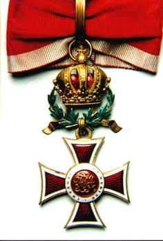 Leopold Order, Commanders' Cross, with WD. Obv.
