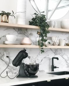 """512 Likes, 28 Comments - Anne Sage (@citysage) on Instagram: """"Some gals dream of matte black Range Rovers—but I dream of the kitchen geek equivalent: A matte…"""""""