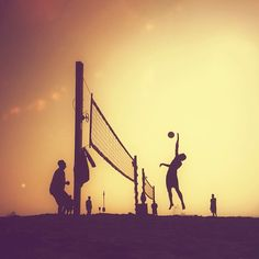 Volleyball Shot! / @jchongstudio