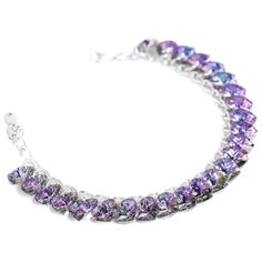 Heart to Heart Bracelet Pure Light Vitrail By Kleshna