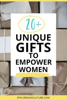 Looking for unique gifts to empower women? These female empowerment gifts support women around the world and make for great presents for her! // #WomenEmpowerment #GiftIdeas #EmpowerWomen Unique Gifts, Best Gifts, Travel Must Haves, Female Empowerment, Responsible Travel, Sustainable Tourism, Restaurant Guide, Local Women, Presents For Her