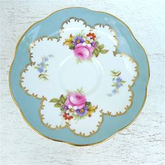 Lovely Foley floral cup and saucer in excellent condition. Would be a wonderful addition to your tea cup collection or as shabby chic decor. There